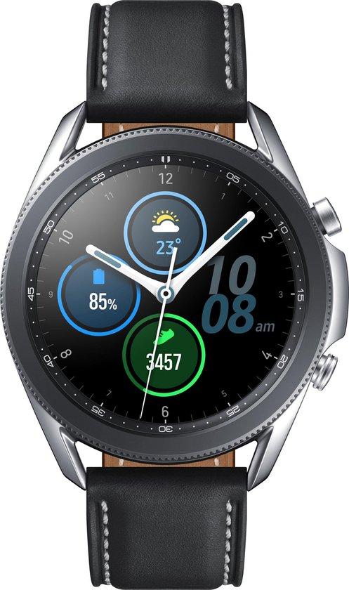 Samsung Galaxy Watch3 - Smartwatch - Stainless Steel - 41mm - Zilver