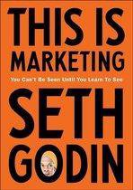 Boek cover This is marketing van Seth Godin (Paperback)