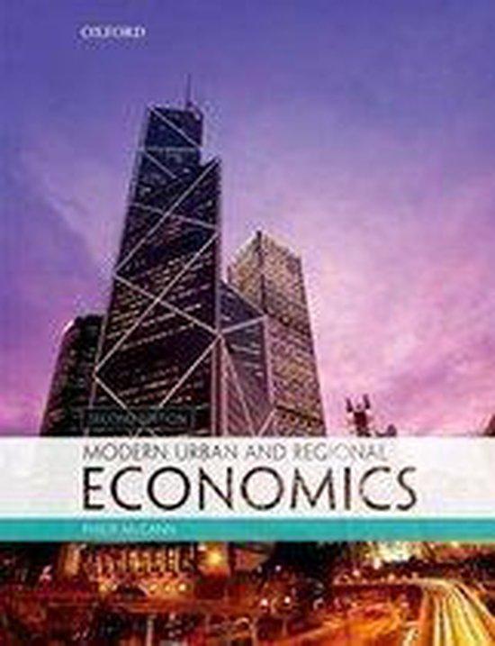Boek cover Modern Urban and Regional Economics van Philip Mccann (Paperback)