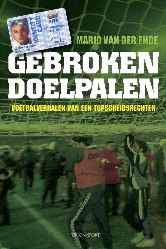 Cover van het boek 'Gebroken doelpalen'