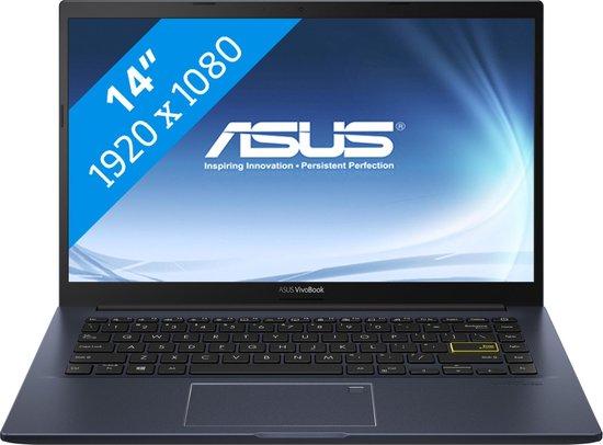 ASUS VivoBook 14 F413FA-EB535T Notebook Zwart 35,6 cm (14'') 1920 x 1080 Pixels Intel® 10de generatie Core™ i5 8 GB DDR4-SDRAM 256 GB SSD Wi-Fi 6 (802.11ax) Windows 10 Home