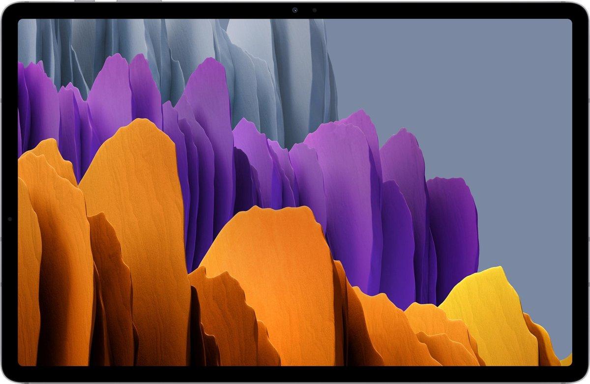 Samsung Galaxy Tab S7+ SM-T970N 256 GB 31,5 cm (12.4) Qualcomm Snapdragon 8 GB Wi-Fi 6 (802.11ax) Android 10 Zilver