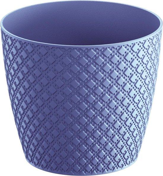 Prosperplast Orient bloempot DOR160-285C - blauw kunststof