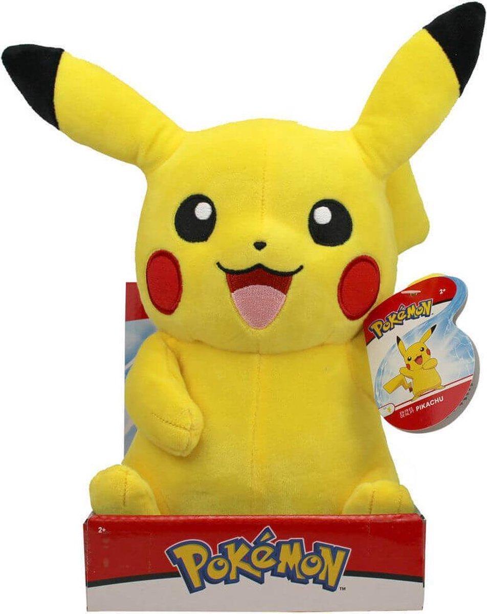 Pokémon Pluche - Pikachu Lachend Knuffel 31 cm