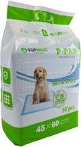 Topmast Puppy Training Pads -Trainingsmatten - Zindelijkheidstraining - Voordeelpak 60 x 45 CM