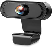 Webcam voor PC HD 1080P | Ingebouwde microfoon| Mac, Windows, HP, Lenovo, Dell| USB2.0 aansluiting| 1920x1080 resolutie camera