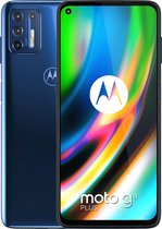 Motorola Moto G9 Plus - 128GB - Deep dive blauw
