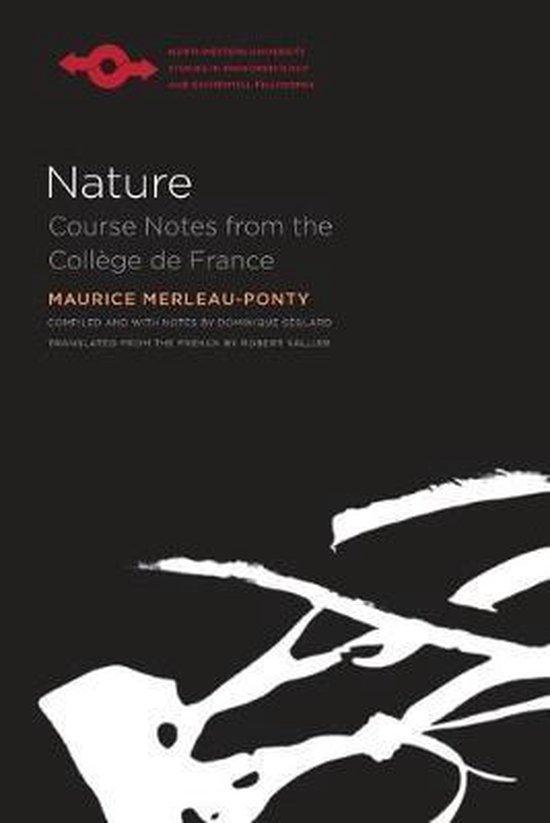 Boek cover La Nature van Maurice Merleau-Ponty (Paperback)