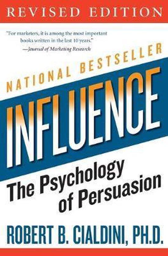 Boek cover Influence van Robert B Cialdini Phd (Paperback)
