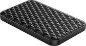 ORICO 2.5 inch harde schijf behuizing met sliding cover - uniek ruit design - zwart