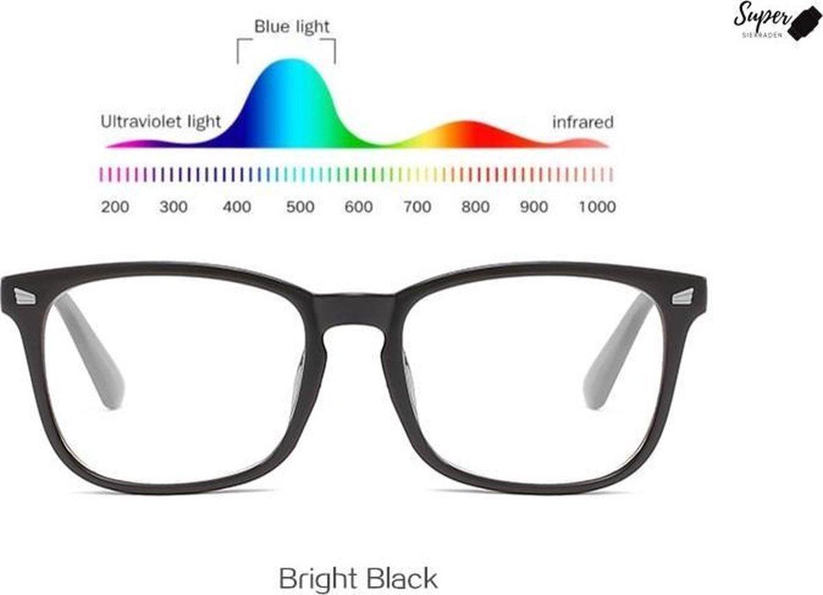 Computerbril - Anti Blauwlicht - Beeldscherm – Game – Computer bril - Computerbrillen - Blue light - Blauw Licht Filter - Blue light glasses kopen