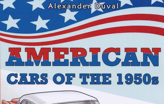 Afbeelding van American Cars of the 1950s Coloring Book