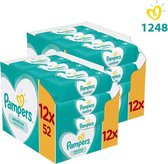 Pampers Baby Wipes Sensitive - Maandbox 24x52 doekjes - 1248 stuks