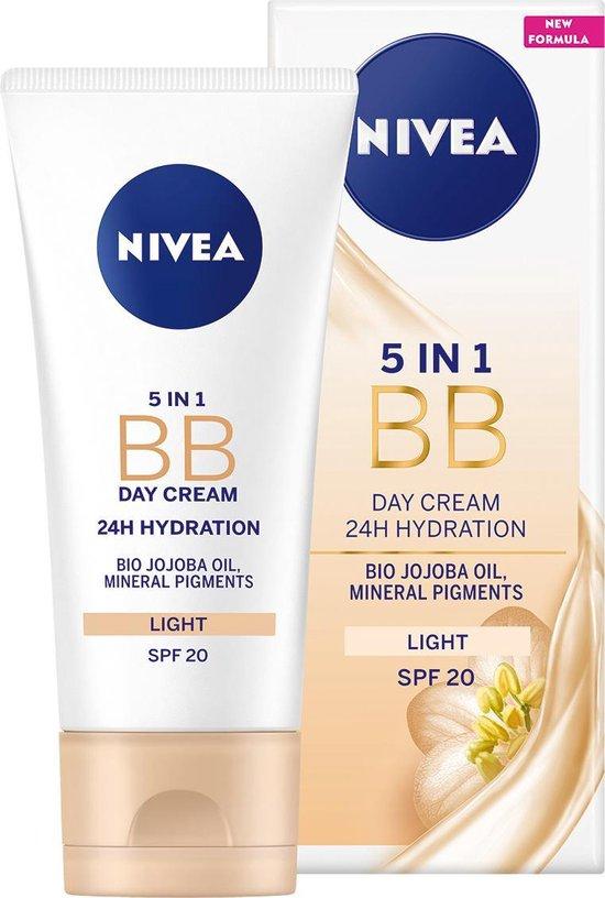 NIVEA Essentials BB Cream Light SPF 20 - 50 ml - Dagcrème