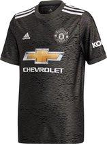 adidas - MUFC Away Jersey Youth - Groen/Grijs - Kinderen - maat  164