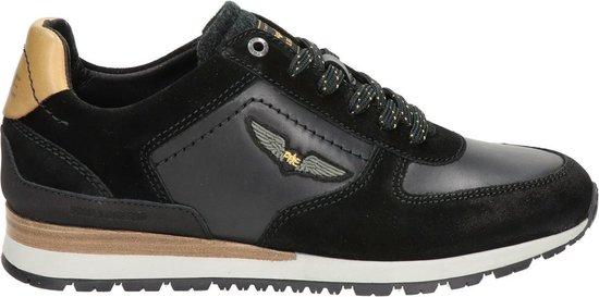 PME Legend Runner Lockplate heren sneaker - Zwart - Maat 46