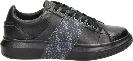 GUESS Salerno II Heren Sneakers - Zwart-Grijs - Maat 42