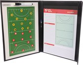 Tactiekmap hockey - Agility Sports - Coachmap - Coachbord - Zwart