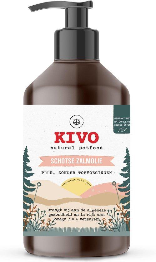 Zalmolie voor hond: Supplement hond & kat 1000 ml. Zuivere Schotse zalmolie met handig doseerpompje