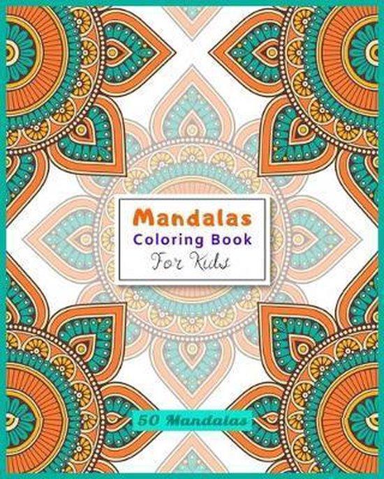 Mandalas Coloring Book for Kids