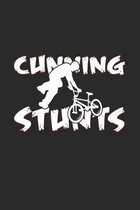 Cunning stunts: 6x9 BMX - grid - squared paper - notebook - notes