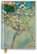 Vincent Van Gogh - Small Pear Tree in Blossom Pocket Diary 2021