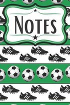 Soccer Notebook for Soccer Players: For Footballers and Soccer Fans