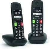 Gigaset E290R - Zwart - 2 handsets