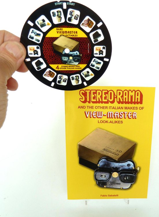 Afbeelding van het spel Stereorama and other Italian Viewmaster look-alikes - met 3D viewmaster schijf