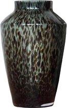 Black Cheetah vaas Hudson | Ø22,5 x H35 cm