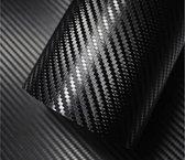 carbon folie – zelfklevend – wrap folie – carbon – carbon wrap – carbon fiber – 3D wrap folie – wrap folie auto – zwart – waterbestendig – weerbestendig – watervast - geschikt  binnen en buitenkant – waterproof – 50 x 100 cm