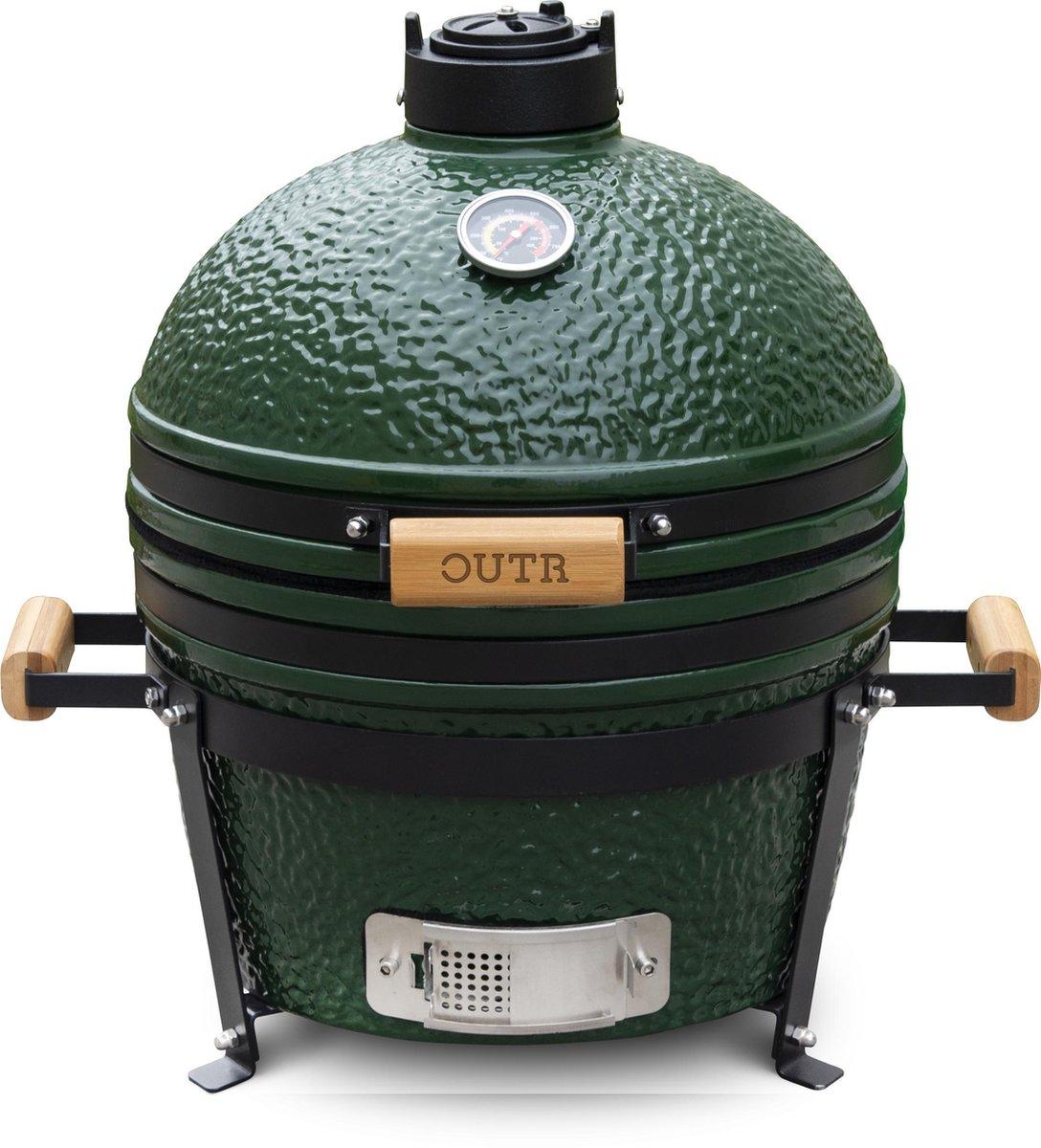 Outr Kamado Grill Medium 40 - Groen