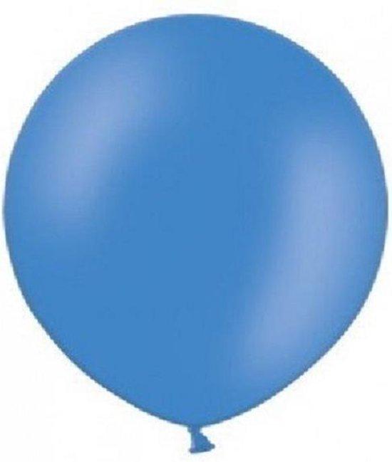 reuze ballon 80 cm 32 inch donker blauw