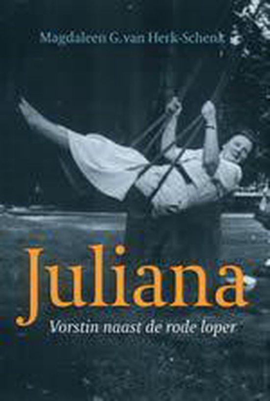 Cover van het boek 'Juliana, vorstin naast de rode loper'