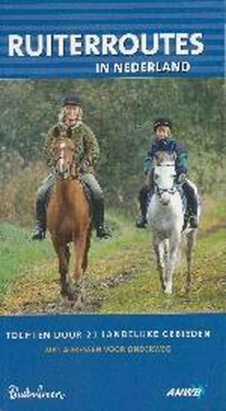 Cover van het boek 'Ruiterroutes in Nederland'