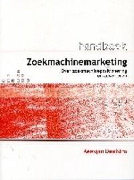 Cover van het boek 'Handboek Zoekmachinemarketing'