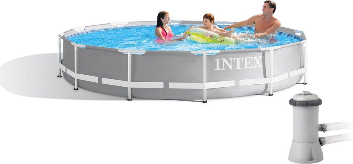 Intex Prism Frame Pool 366 x 76 cm incl. filterpomp