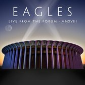 CD cover van Live From The Forum MMXVIII (2CD+DVD) van The Eagles