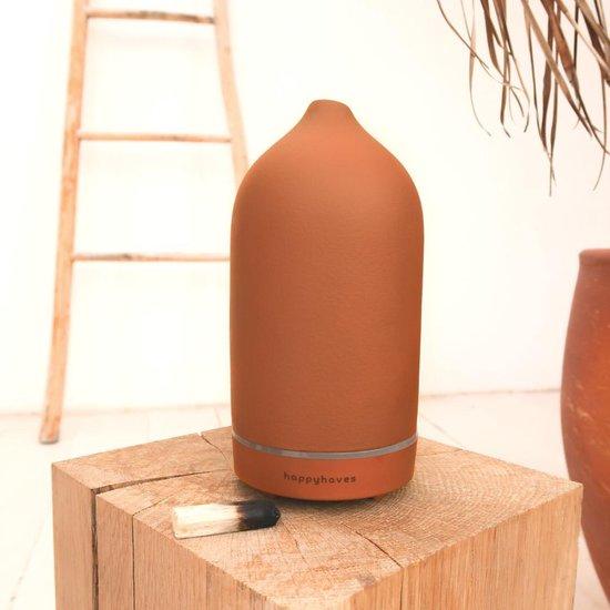 HappyHaves Aroma Earth Diffuser© in keramiek - Aromatherapie