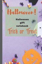 Halloween!: Halloween gift notebook