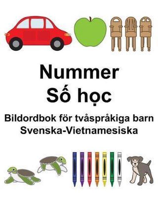 Svenska-Vietnamesiska Nummer/Số học Bildordbok foer tvasprakiga barn
