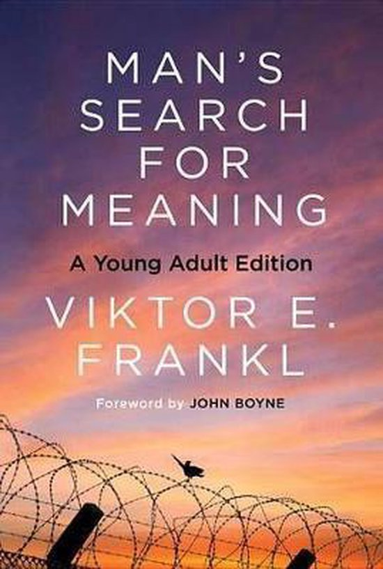 Boek cover Mans Search for Meaning: Young Adult Edition van Viktor E. Frankl (Paperback)