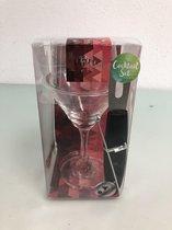 Cocktail set, cosmopolitan