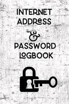 Internet Address & Password Logbook