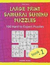 Large Print Samurai Sudoku Puzzles