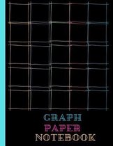 Graph Paper Notebook: Quad Ruled 5 Squares Per Inch, Colorful Squares, 5 X 5 Grid, 8.5 X 11 Size Graph Notebook