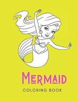 Mermaid Coloring Book: For Adults with Anxiety and Depression - 30 Pages - Made In USA - Size 8.5x11