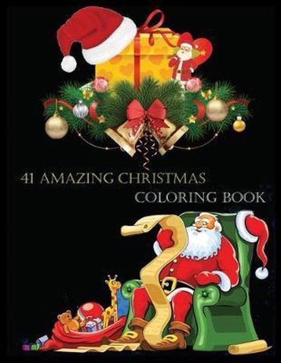 41 Amazing Christmas Coloring Book