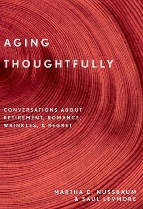 Boek cover Aging Thoughtfully van Martha C. Nussbaum (Paperback)