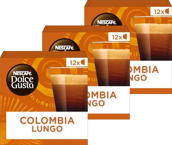 NESCAFÉ® Dolce Gusto® Absolute Origins Colombia Sierra Nevada Lungo Koffiecups - 3 doosjes à 12 capsules geschikt voor 36 kopjes - NESCAFÉ Dolce Gusto